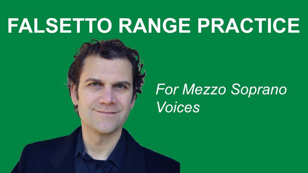 How to Sing Falsetto - Mezzo Soprano Range - YouTube