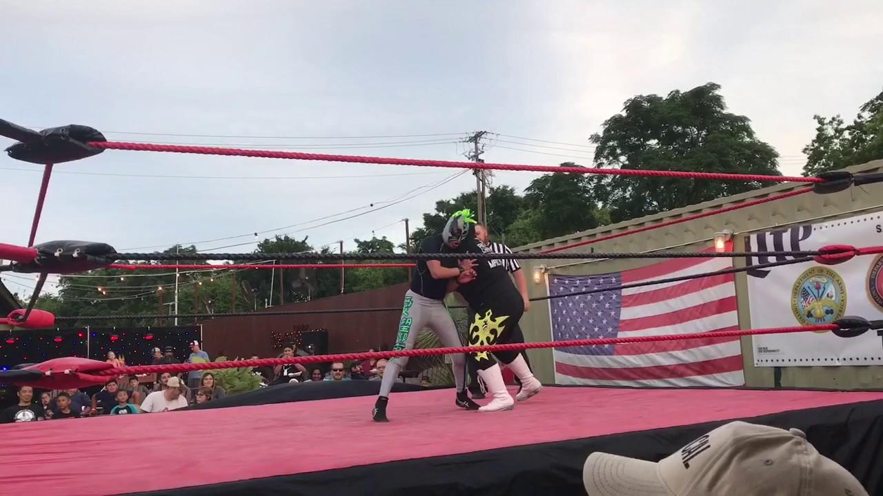 tormenta silenciosa vs super sonic 05 07 17 bbw wrestling youtube
