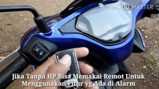 Alarm motor pakai hp android ios remot sudah ada GPS