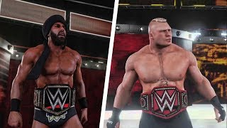 WWE 2K18 - Survivor Series 2017: Brock Lesnar vs. Jinder Mahal | Epic Match Highlights!
