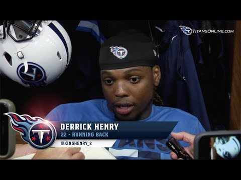 Derrick Henry on Improving in Year Two