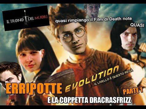 """RIASSUNTO ACCURATISSIMO HARRY POTTER """"ERRIPOTTE EVOLUTION E LA COPPETTA DEL DRACRASFRIZZ"""" PT1"""