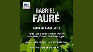 3 Songs, Op. 5: L'absent, Op. 5, No. 3