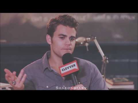 Paul Wesley - Funny moments