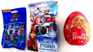 Frozen , Paw Patrol and Barbie Surprises