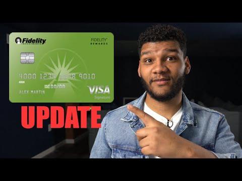 Fidelity Signature Rewards Credit Card (2020 Update)