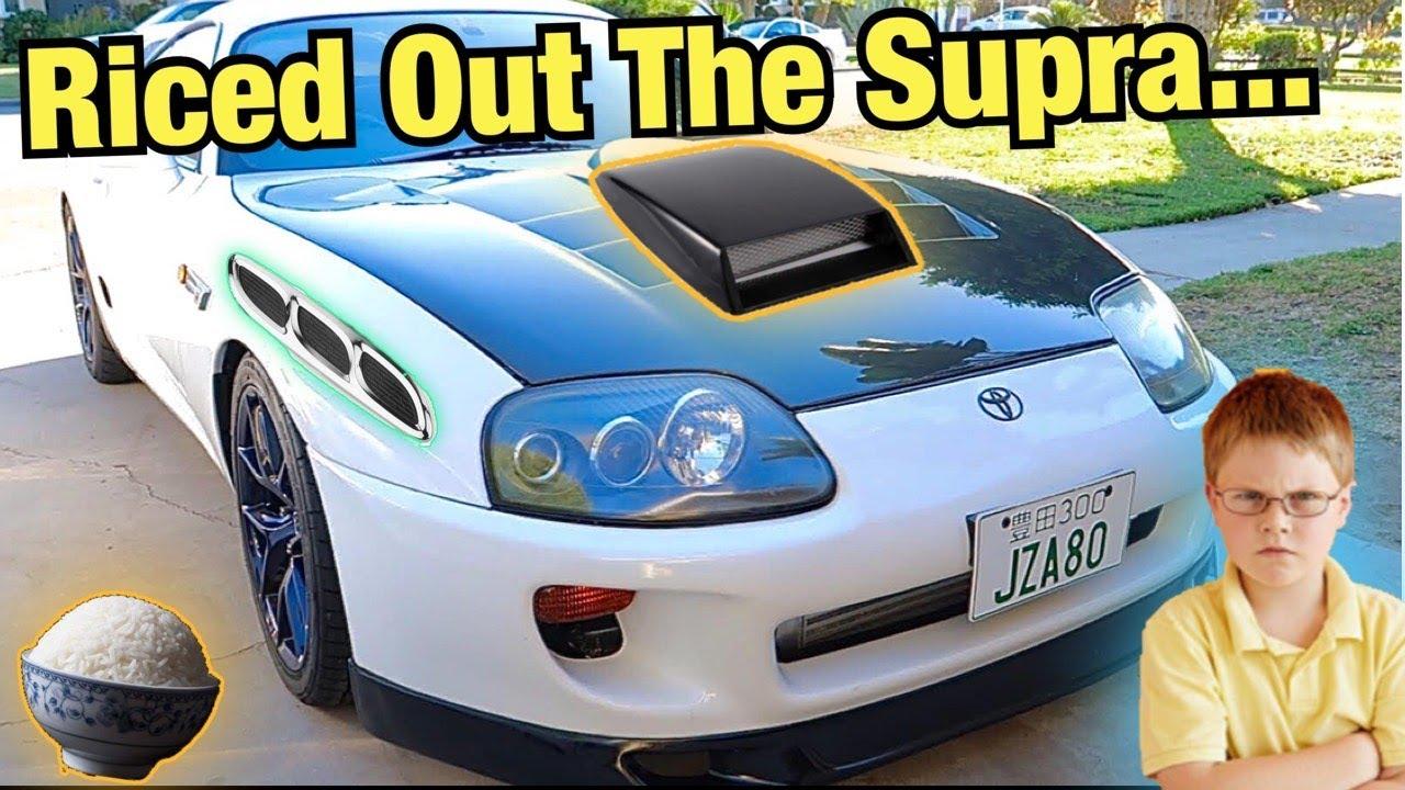 I Riced Out My RHD Supra...