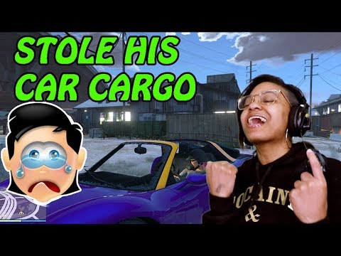 STEALING ANOTHER PLAYER'S VEHICLE CARGO! - GTA Online: Import/Export DLC