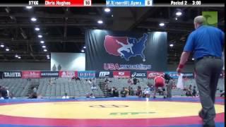C Division 97KG - Chris Hughes vs. M.T(merrill) Ayers