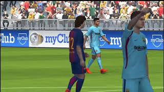 Pes 18 android gameplay (full HD) -best android graphics ?