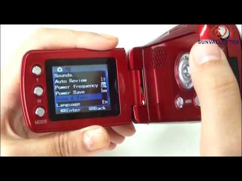 Mini Digital Video Camera DV Camcorder 12MP 4xZoom 64 02104 007