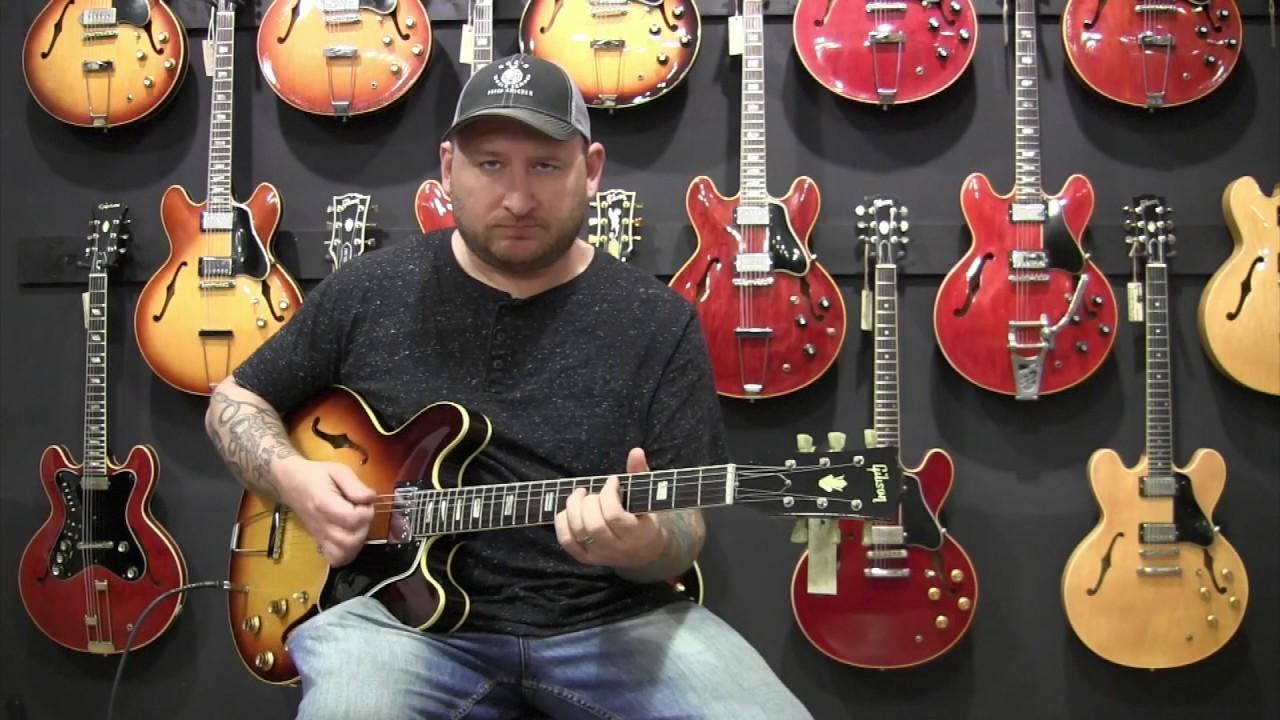 1965 Gibson Es 335 Td Sunburst Josh Smith At Guitarpoint Es345 Wiring Repair Chicago Fret Works Guitar Vintage Guitars