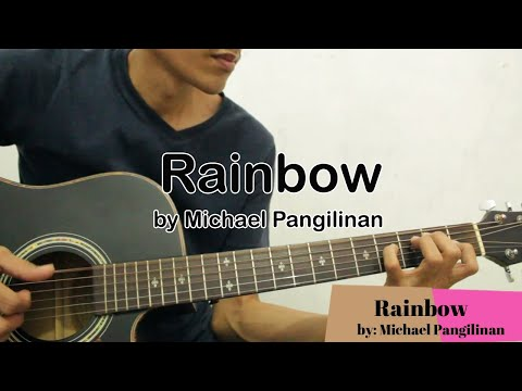 Rainbow-Michael Pangilinan Full Guitar tutorial Wish Bus version