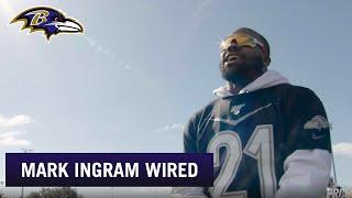 Mark Ingram Mic'd Up at the Pro Bowl Practice   Baltimore Ravens
