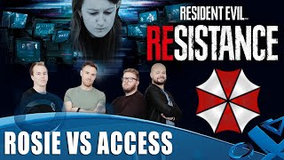 Resident Evil Resistance - 4v1 Private Match Gameplay on PS4