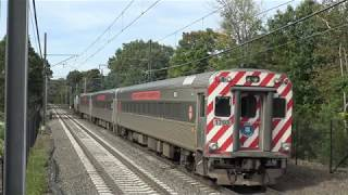 Railfanning Connecticut with Awesome Horn Shows from Amtrak & Shore Line East Trains!