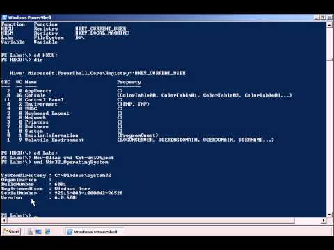 Introduction to Microsoft Windows Powershell for Systems Administrators