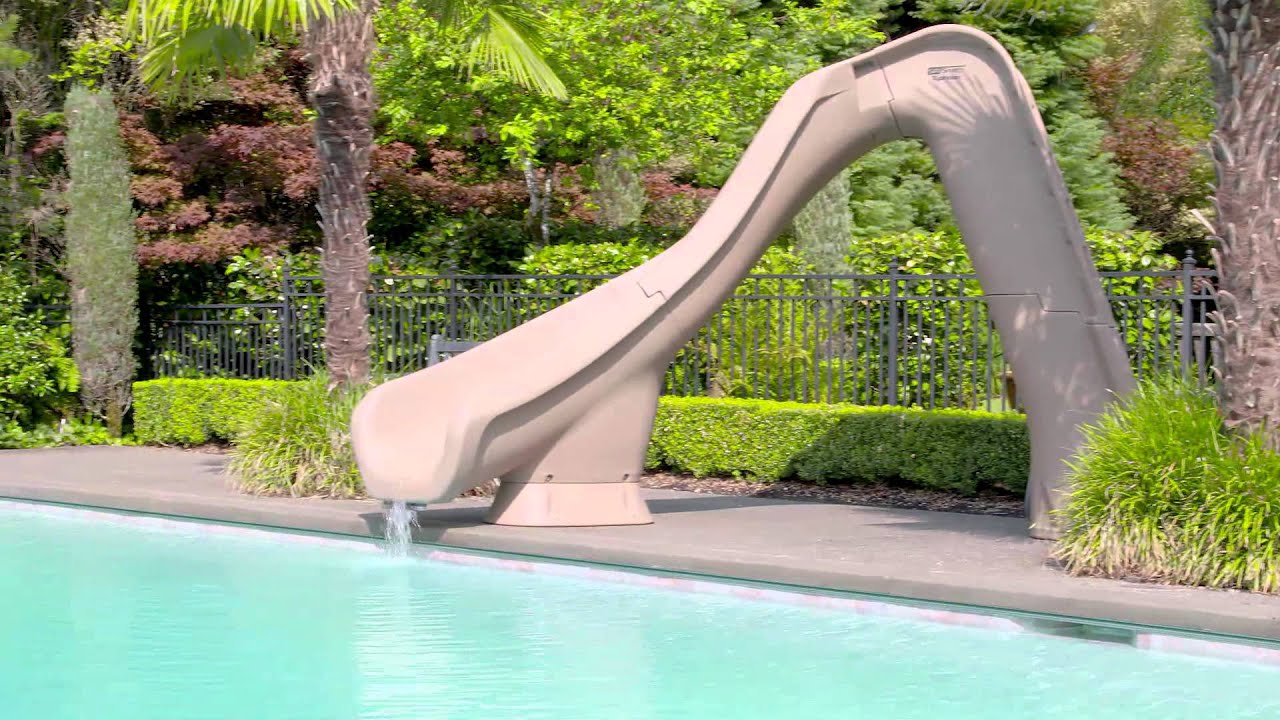 how to make pool slides