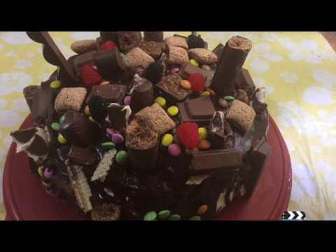 décoration-gâteau-d-anniversaire-تزيين-مرطبات