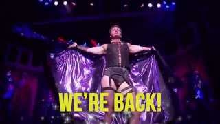 THE ROCKY HORROR SHOW IS COMING BACK TO MELBOURNE 11 JUNE 2015