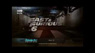 """Watch """"Fast and Furious 6"""" at HBO, 31 Mei 2014 (aora tv satelit)"""