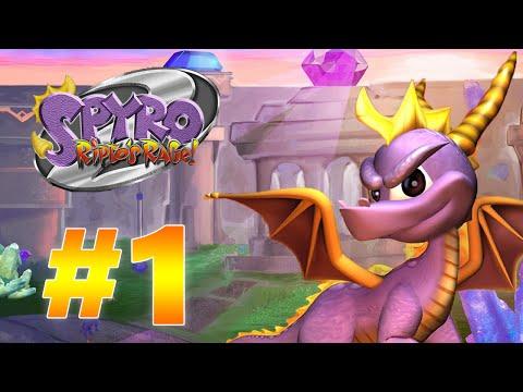 Прохождение Spyro: A Heros Tail - #1 - Деревня драконов