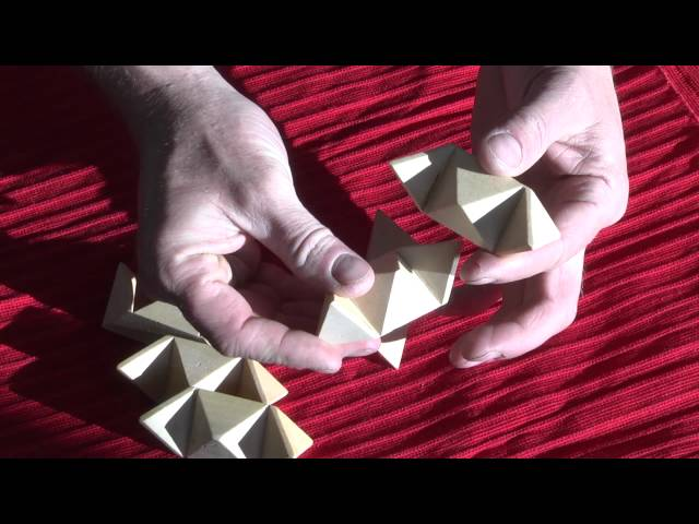 SOLUTION to Wooden Star Puzzle, Mind Game Kindergarten, STAR WOOD PUZZLE, Concept2Go