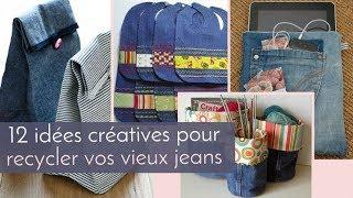 12 idées créatives pour recycler vos vieux jeans