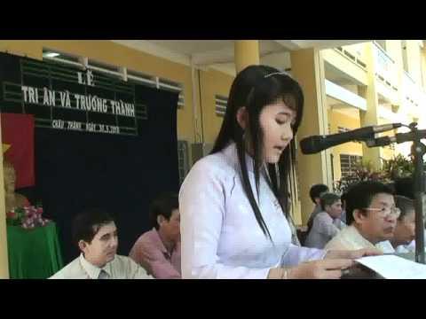 Lễ Tri ân 2010 THPT Châu Thành 2 ĐT_ P3