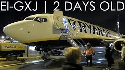 BRAND NEW Ryanair Boeing 737-8AS EI-GXJ Dublin to Manchester | Full Flight