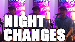 Night Changes cover | francis greg