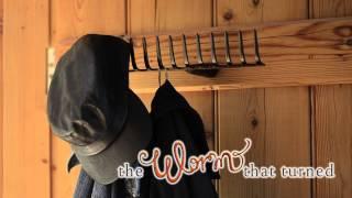 Garden Rake Coat Hook