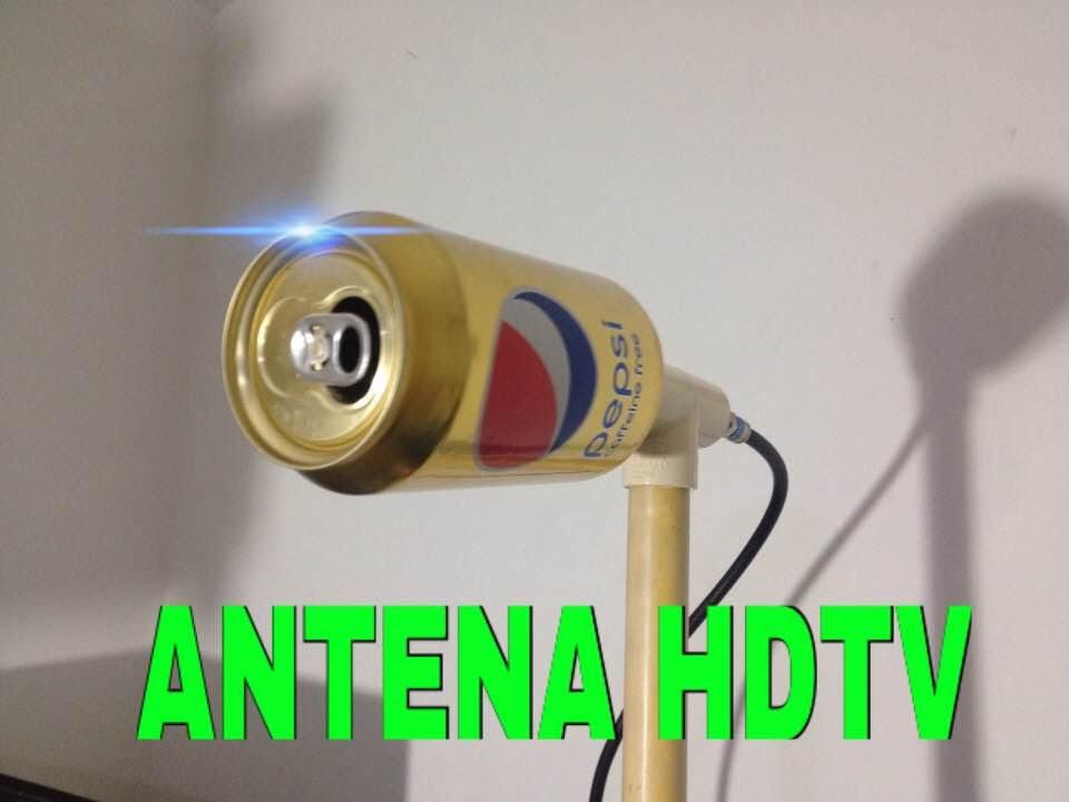 Antena hd casera ultra potente con lata de pepsi youtube - Antena tdt interior casera ...
