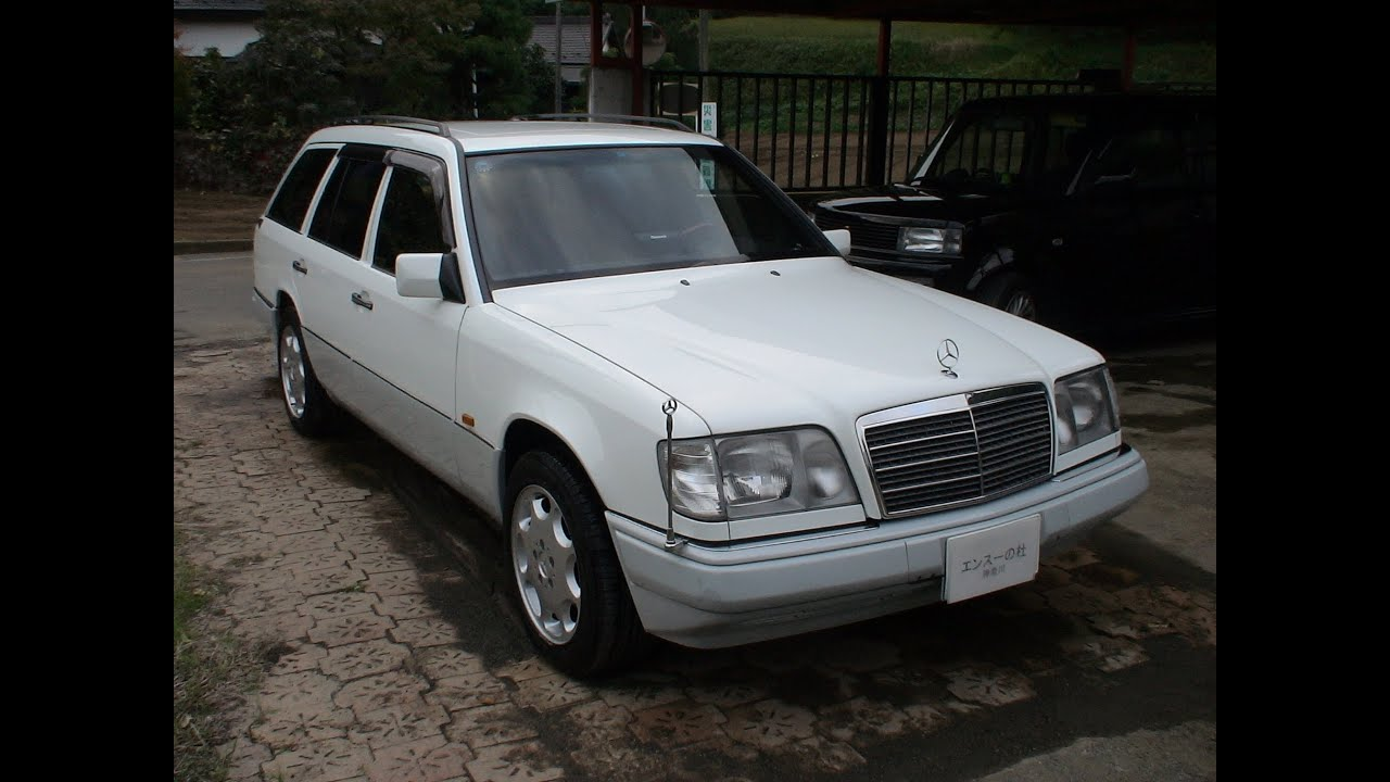 mercedes benz e320 stationwagon w124 39 1995 funnydog tv. Black Bedroom Furniture Sets. Home Design Ideas
