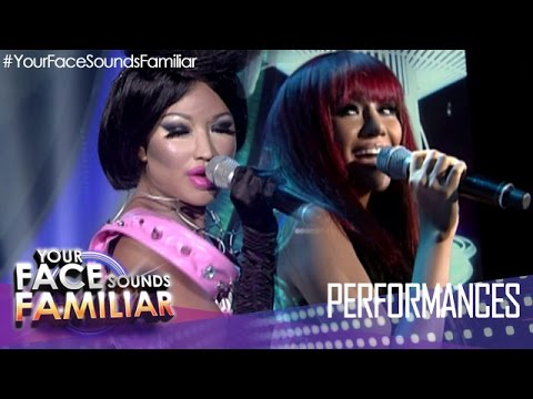 Your Face Sounds Familiar: Myrtle Sarrosa as Rihanna and Nicki Minaj -
