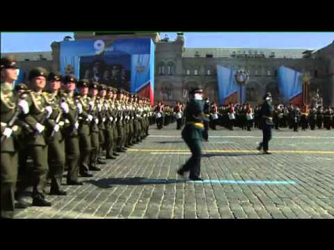 Moscow Parade Victory Day Full 60 Min. 9/5/13 Великой Победы Парад