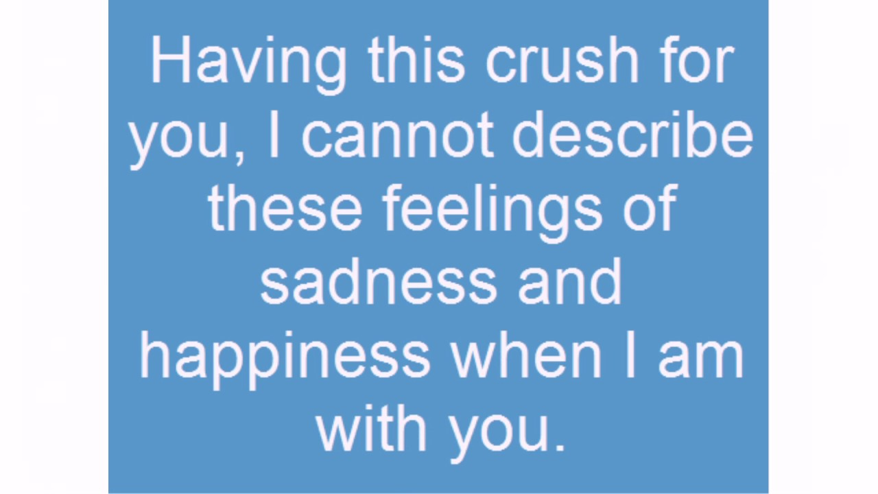 Sad Crush Quotes - lovequotesmessages