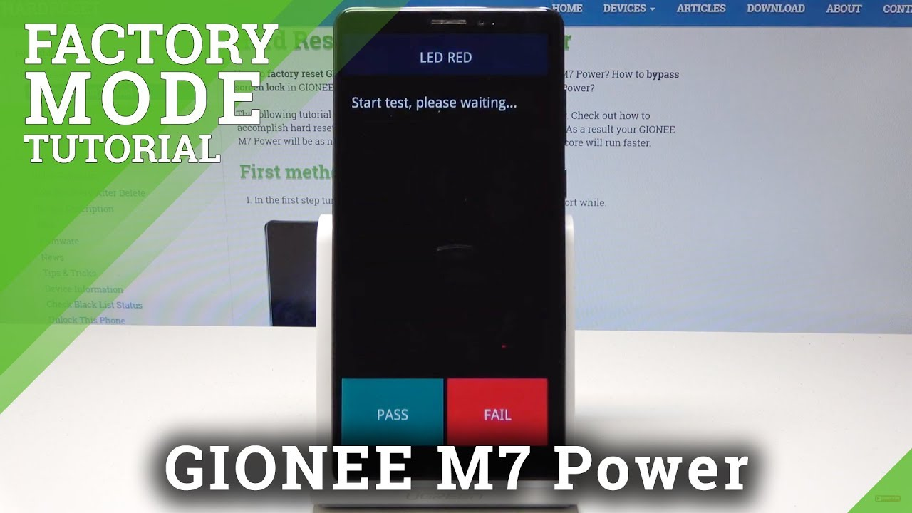 How to Enter Factory Mode in GIONEE M7 Power - Test Menu / GIONEE Hardware  Test