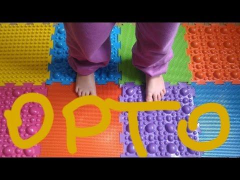 Массажный ортопедический коврик пазл МИКС | Обзор и Упражнения от плоскостопия