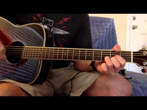 Live - All Over You Guitar Lesson