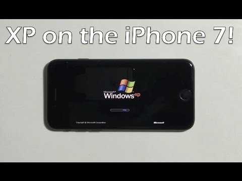 Windows XP Berjalan di iPhone 7