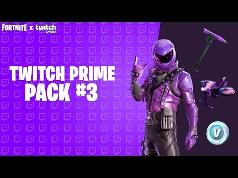 GET YOUR FREE TWITCH PRIME PACK In Fortnite (Twitch Prime Pack 3)
