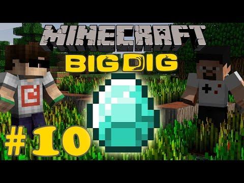 Minecraft: Big Dig #10 - ELMAS TARLASI!
