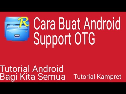 Cara Buat Android Support OTG
