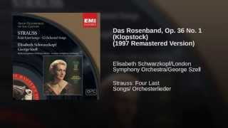 Das Rosenband, Op. 36 No. 1 (Klopstock) (1997 Remastered Version)