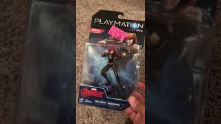 Playmation black widow figure opening