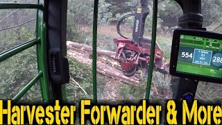 Download Video John Deere 859MH & Waratah HTH622B | Headcam | OnBoard MP3 3GP MP4