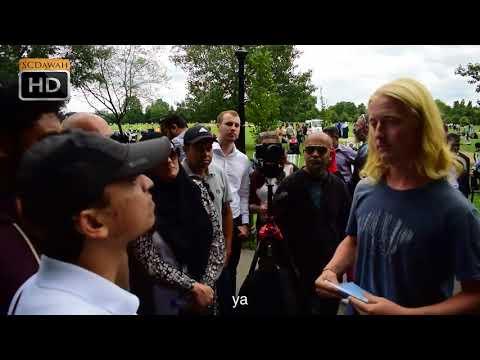 P1 - Tiga apa? Mansur vs Phillip   Speakers Corner   Hyde Park