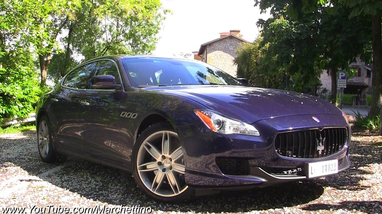2013 Maserati Quattroporte S Q4 Road Test & Review - YouTube