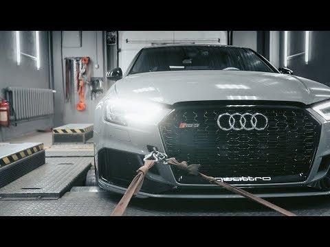 Новая Audi RS3 8v.2 улетает в космос, тюнинг самой крутой ауди!
